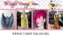 Rental of woman's vintage outfits/costumes